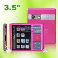 China 3.5 Inch High Clarity TFT MP3/MP4 Player With DVB-T Function MP513B on sale