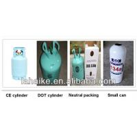 HFC gas r 134a in disposable cylinders