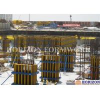 Quality Steel Waling Wall Formwork Systems , Column Formwork Systems For Commercial Towers for sale