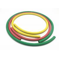 Quality Two Layers Polyester Fiber Braided Air Hose With Green Yellow Red Color for sale