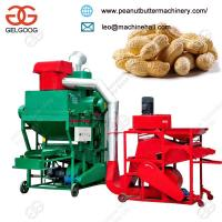 Quality Easy Operation Peanut Groundnut Sheller and Stone Cleaner Machine for sale