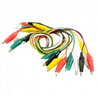 Buy cheap Double alligator clip wire With crocodile clip from wholesalers