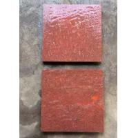 China Red Porphyry Granite Basalt Paver Tiles , Basalt Paving Slabs Stones on sale