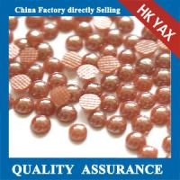 Quality 2015 New Korean quality 3mm round pearls;round pearls 3mm ; 3mm half round pearls for sale