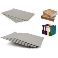 China China paper mill Grey Book Binding Board / recycled paper pulp for macking arch file on sale