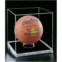 China clear acrylic store display box for basketball on sale