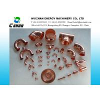Quality Welding Air Conditioning Copper pipe fittings / copper tee for water piping project for sale