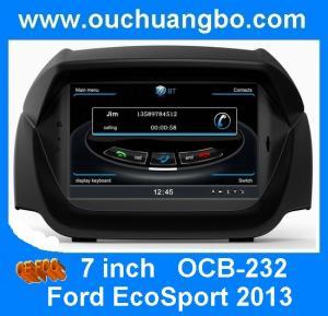 Quality Ouchuangbo S100 Platform for Ford EcoSport 2013 Car Sat Navi DVD Radio 3G Wifi OCB-232 for sale