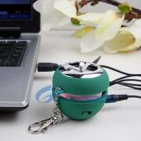 Quality New Mini Apple Shape USB Speaker for sale