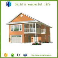 Buy low cost time-saving pre manufactured homes prefabricated villa at wholesale prices