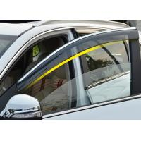 Quality Injection Molding Window Visors with Trim Stripe For Chery Tiggo5 2014 2016 for sale