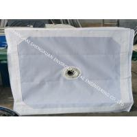 China No Blocking Press Filter Cloth , Sludge Dewatering Micron Water Filter Fabric on sale