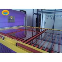 Buy cheap Architecture Tempered Glass Making Machine / Glass Tempering Line CE Certificati from wholesalers