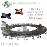 Quality PU shoe making machine automatic system save power and labor for sale