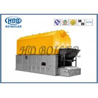Quality Fully Automated Horizontal Biomass Fuel Boiler / Wood Pellet Steam Boiler for sale