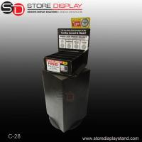 China Comprehensive material rotatable counter display with turnatable on sale