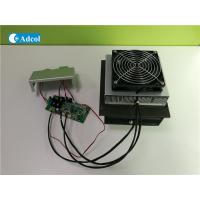 Quality Compact 100W 48VDC Thermoelectric Air Conditioner With Controller And Cover for sale