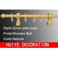 Buy cheap Wooden Ball Plain Pole ( Curtain Rods / Curtain Tracks ) from wholesalers