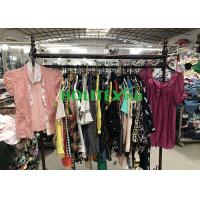 Quality Popular Used Womens Clothing South Korea Style Ladies Cotton Blouses For Summer for sale