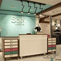 Quality New arrival simple style clothing shop cash counter design for sale