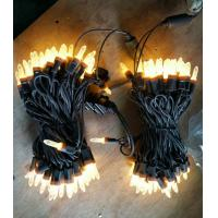 Quality 100 m5 warm white led christmas lights for sale