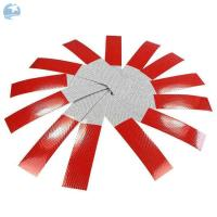 China Micro Glass Beads DOT Reflective Tape 2 X 18 Red / White  Stripped UV Resist Waterproof on sale