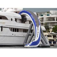 Buy Commercial Grade Inflatable Water Slide , Inflatable Yacht Ship Slide For Water at wholesale prices