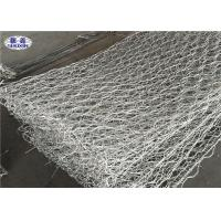 China Double Twist Gabion Wall Cages For River Bed Protection Hexagonal Weave on sale