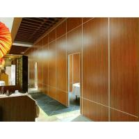 Quality Mdf Board Office Partition Walls / Aluminium Track Decoration Acoustic Room Dividers for sale