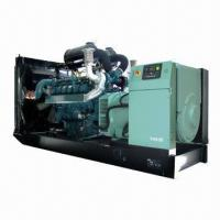 China 660kVA Diesel Generator with Doosan Engine and Leroy Somer Alter on sale