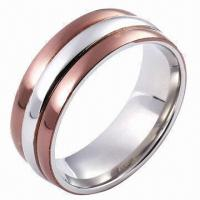 Quality Stainless Steel Ring, Customized Designs and Logos Accepted for sale