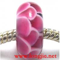 Quality pandora style glass beads,qianhualiuli glass beads for sale