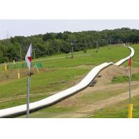 China Outdoor Inflatable Long Water Slide For Adult / 1000 FT Blow Up Slip N Slide on sale