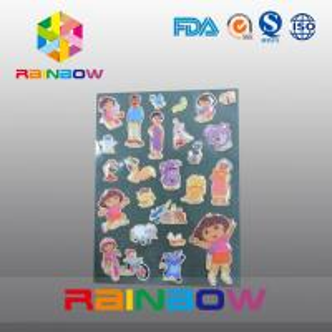 Quality Colorful Vivid Irregular Economic Recyclable Custom Paper Labels Bottle / Plastic Bag for sale