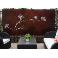 Quality Modern Corten Steel Rusty Metal Wall Sculpture Art Panel , Metal Sculpture Wall Art for sale