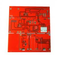 Quality Red color FR-4 PCB for sale