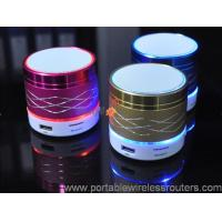 Quality Mini Colorful Light Shinning marquee Portable Bluethooth Speaker support mobile remote control operation for sale