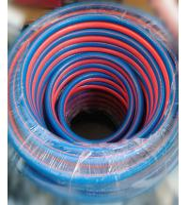 Quality rubber oxygen acetylene twin welding hose, Twin welding hose /oxygen hose /acetylene hose,6mm welding hose for sale