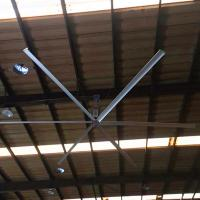 China Warehouse Giant Ceiling Fan 9 ft High Volume Low Speed With Six Blades on sale