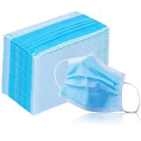 Quality 3 Ply Antiviral Face Mask Earloop Disposable Protective Breathing Medical Mask for sale