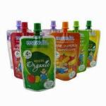 Quality Flexiable PET / PE Spout Pouch Packaging For Drinking Juice Moisture Resistance for sale