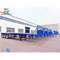 China 40ft Shipping Container Trailer on sale