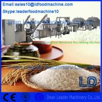 Quality 2014 new Automatic Artificial Rice Extruder Machine/Artifical nutritional rice machinery for sale