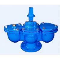 Quality 4 Inch Air Relief Valve RF Connection PN16 Ductile Iron Material for sale