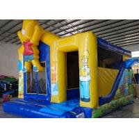 Quality The Simpons Customized Character Kids Inflatable Bounce House Air Inflated Jumper for sale