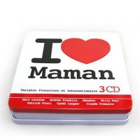 China double cover CD tin boxes on sale