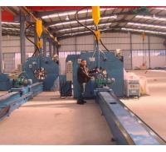Quality 16m Length Autotmatic Welding Light Pole Production Line 4KW AC Motor for sale