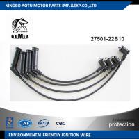 China High voltage silicone Ignition wire set, ignition cable kit, spark plug wire 27501-22B10 for KIA on sale