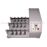 China Electronic Power Leather Flexing Resistance Tester 22.5° Flexural Angle on sale