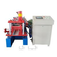 Quality Automatic galvanized steel C / Z purlin roll forming machine with CE / ISO9001 / SGS certification for sale